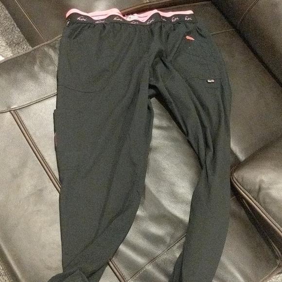 Black scrub pants. Size XL